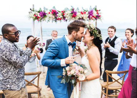 ¿Qué no se les puede decir a los novios el día de su boda?