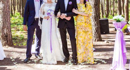 Los testigos en la boda religiosa