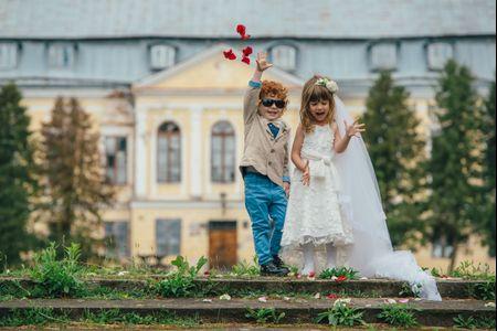 Los niños en la ceremonia de boda: 12 ideas para hacerlos partícipes de tu gran día