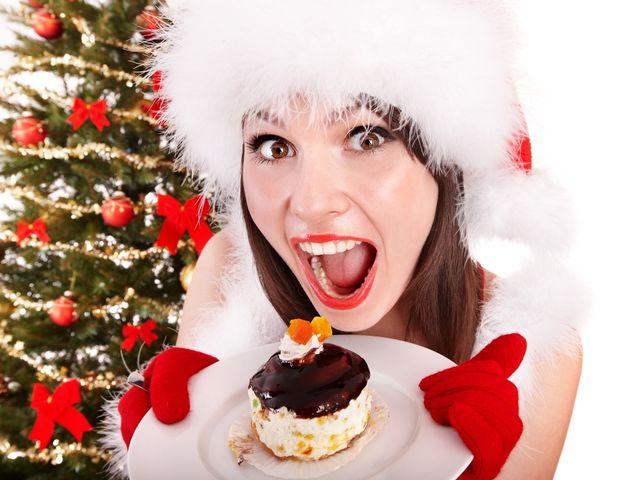 Cómo mantener la línea en Navidad