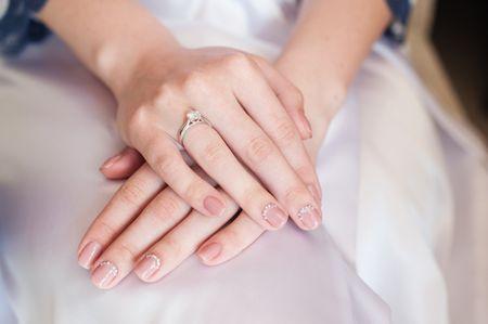 Manicura para novias: 10 diseños especiales para el día de tu boda