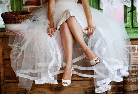 Presume unas piernas perfectas durante tu matrimonio