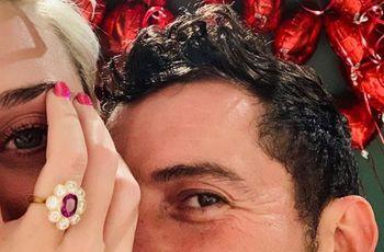 ¡Campanas de boda! Katy Perry y Orlando Bloom están comprometidos