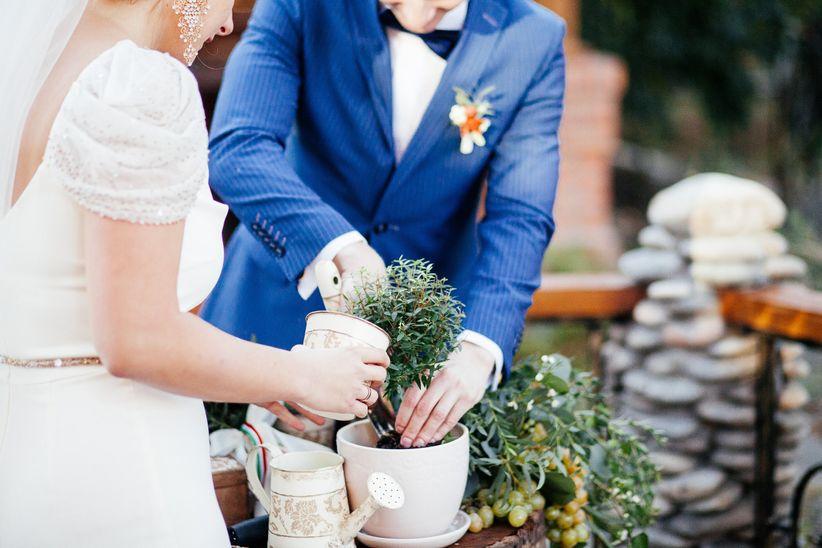 Guion Matrimonio Simbolico : Ceremonia de la plantación para su matrimonio: un ritual para toda