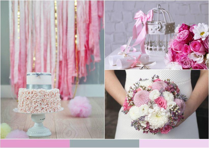10 combinaciones de color para inspirar tu matri - Decoraciones en color plata ...