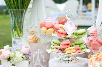 Mesa de dulces con macarrons: ocasiones para incluirlos ¡sobran!