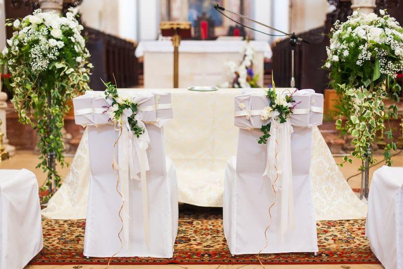 decoración de la iglesia: consejos para una boda perfecta