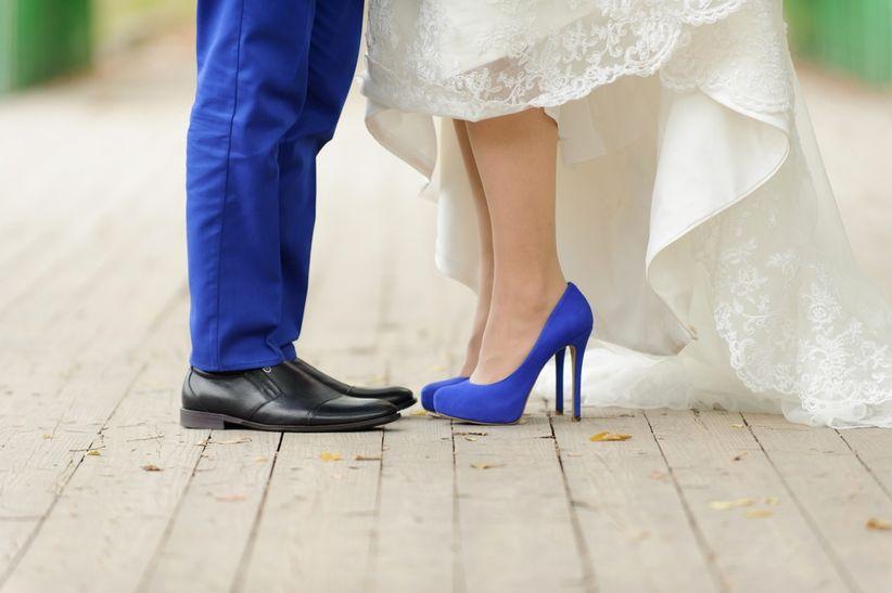 25 zapatos de novia azules: ¡déjate conquistar!