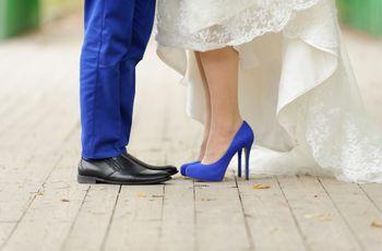 Zapatos de novia azules: 25 modelos que te conquistarán