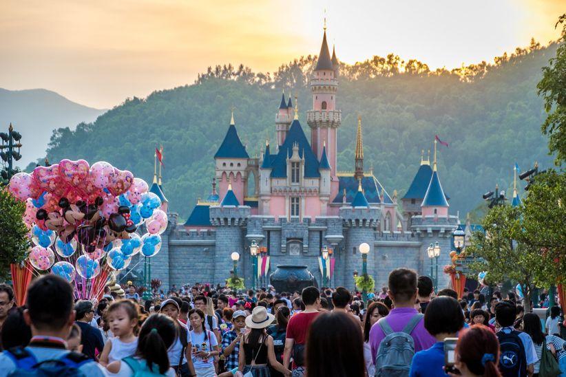 Castillo Disney en Hong Kong