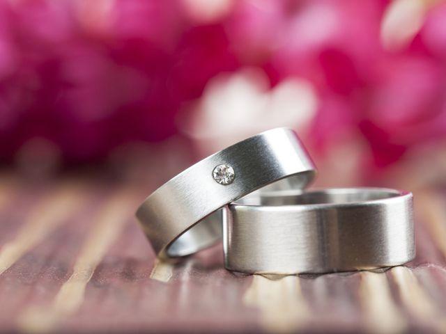 Aros de matrimonio de titanio: indestructible como el amor