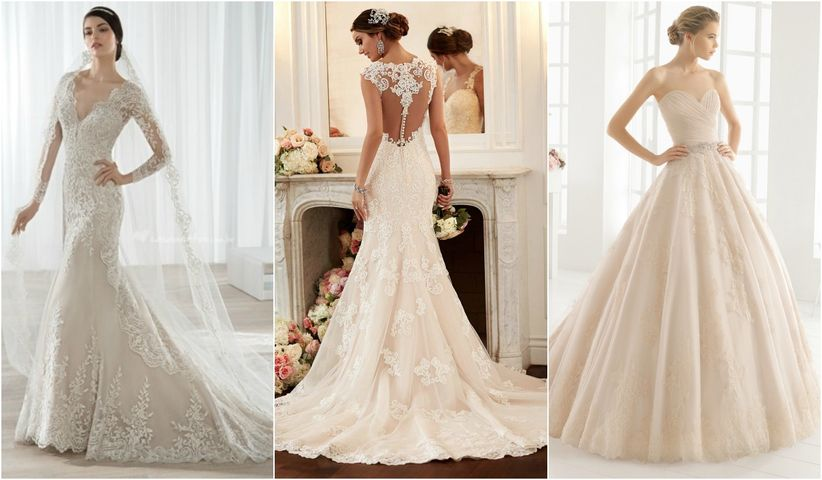 vestidos de novia color blanco hueso – vestidos baratos