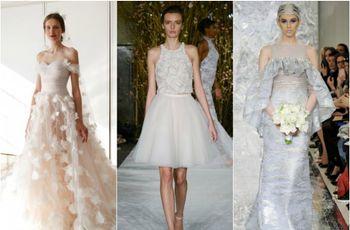 Tendencias para novias en el New York International Bridal Week