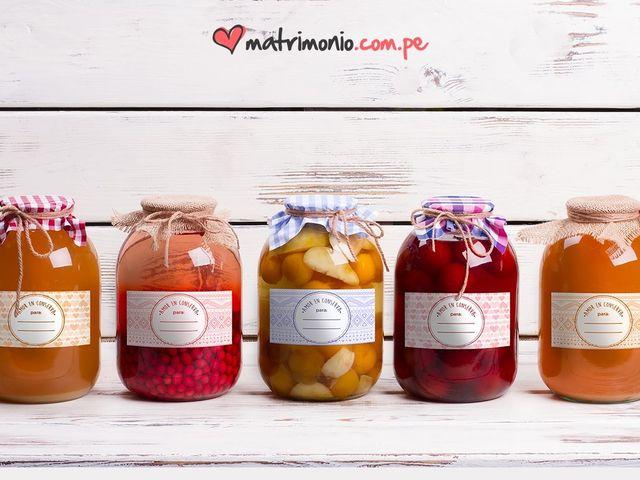 """""""Amor en conserva"""" etiquetas descargables para tus frascos de mermelada"""