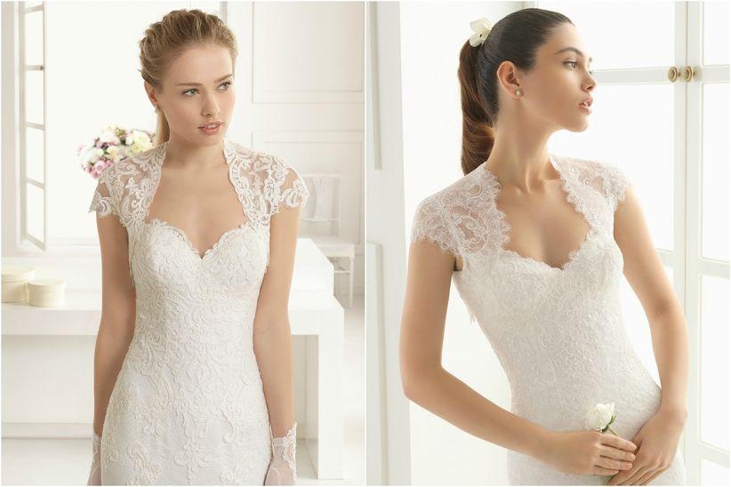 tipos de escote para tu vestido de novia