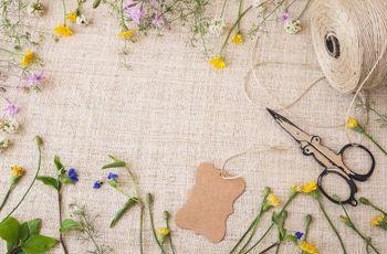10 mejores detalles hechos a mano para su boda ¡DIY infaltables!