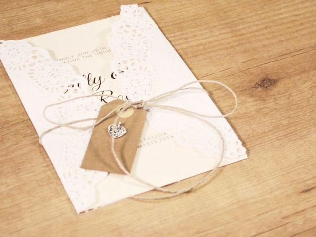 Partes de matrimonio DIY: invitaciones personalizadas ¡hechas por ustedes mismos!