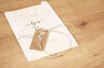 Partes de boda DIY: Crea y personaliza tus invitaciones