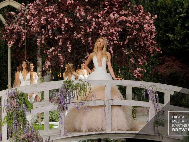 Pronovias inaugura la Barcelona Bridal Fashion Week con su colección Atelier Pronovias 2019