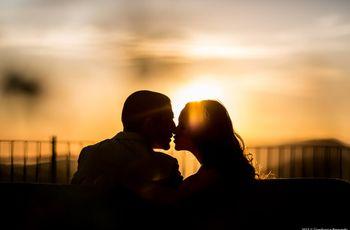 El matrimonio íntimo de ensueño de Danielle y Brent