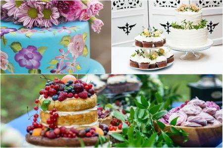 Tendencias en tortas de matrimonio �irresistibles!
