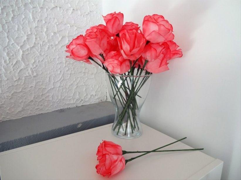 Como Hacer Flores Con Filtros De Cafe