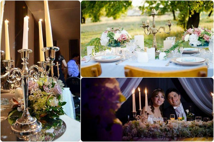 Matrimonio con velas: ideas para acertar con la decoración en 2016