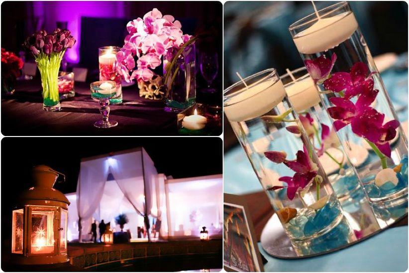 Matrimonio con velas ideas para acertar con la decoraci n for Decoracion en bodas 2016