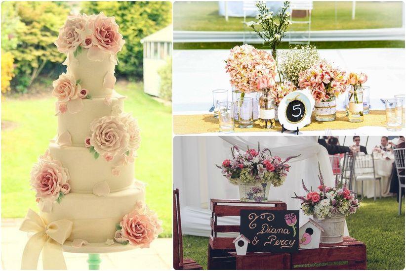 Matrimonio estilo vintage - Decoraciones bodas vintage ...