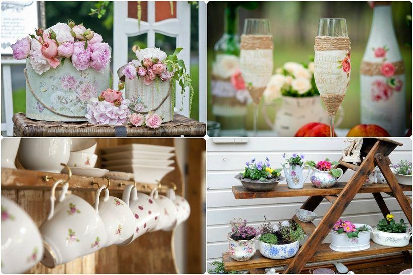 8 estilos para decorar casamientos - Decorar estilo shabby chic ...