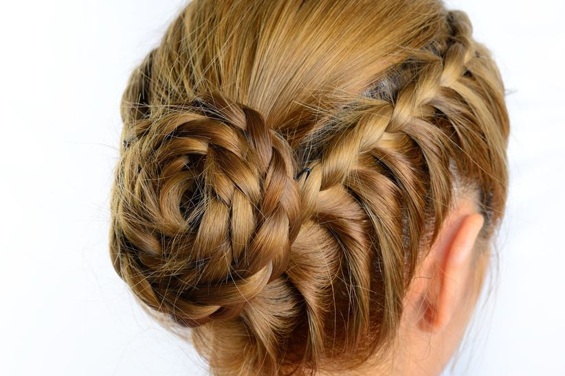 Peinados De Novia Con Trenzas 7 Looks Romanticos - Peinados-con-trenzaa