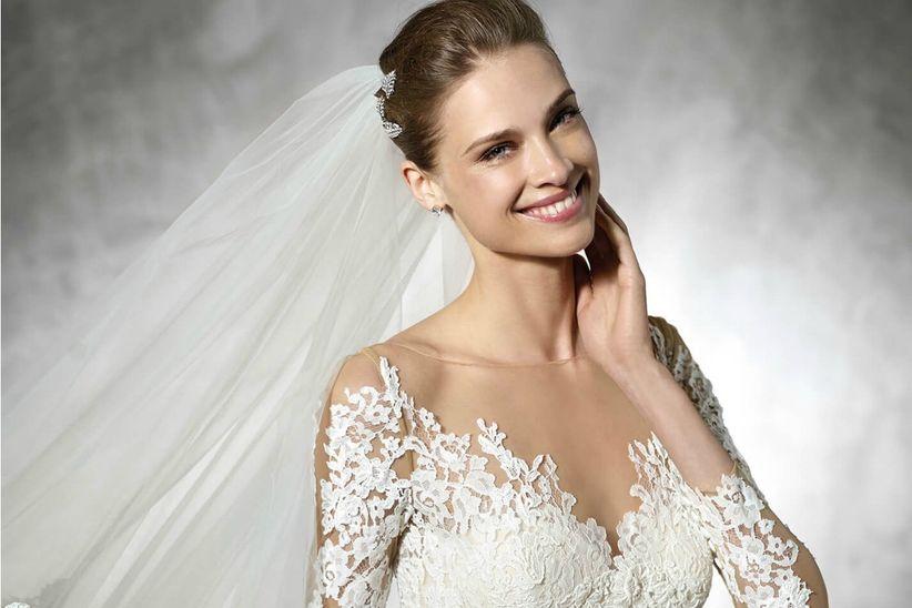 vestidos de novia 2017: colección pronovias, amor a primera vista
