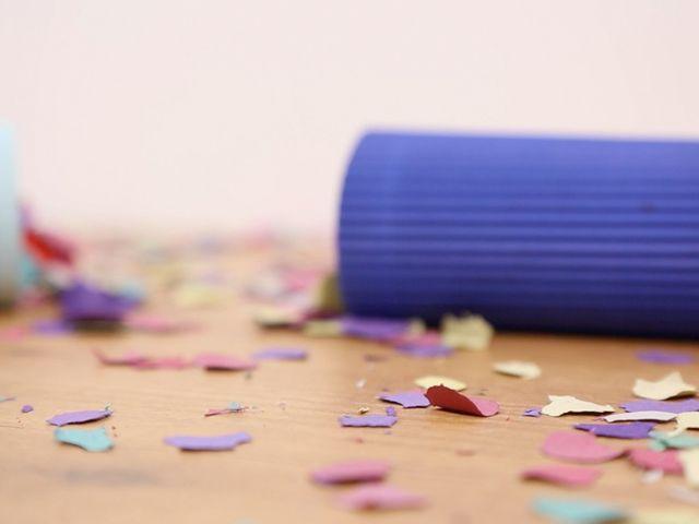 DIY: ¡Elabora tu propio lanza confeti para tu matrimonio!