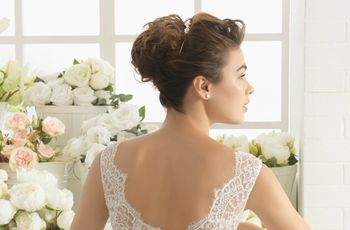 Test: ¿Qué peinado recogido de novia va mejor contigo?