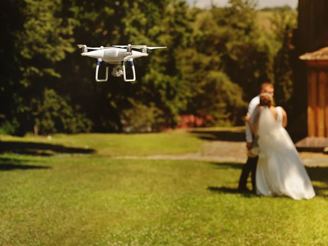 Sobrevolando tu boda: todo lo que tienes que saber sobre los drones