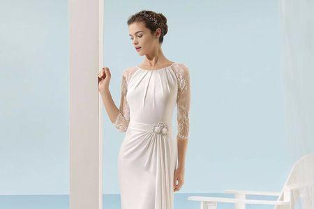 ¿Por qué elegir un vestido de novia manga tres cuartos?