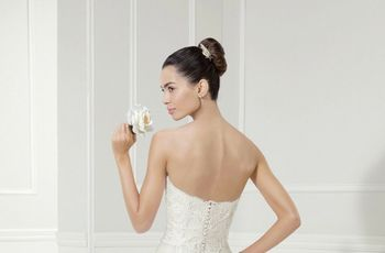Peinados altos: ¡perfectos para las novias más románticas!