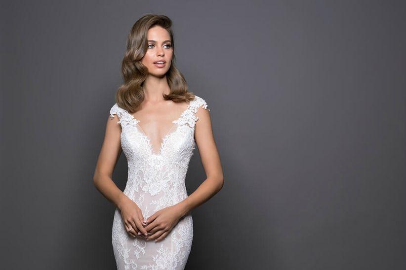 Simple y con estilo peinados para escote en v Fotos de ideas de color de pelo - Peinados acorde a cada vestido de novia - Foro Belleza ...