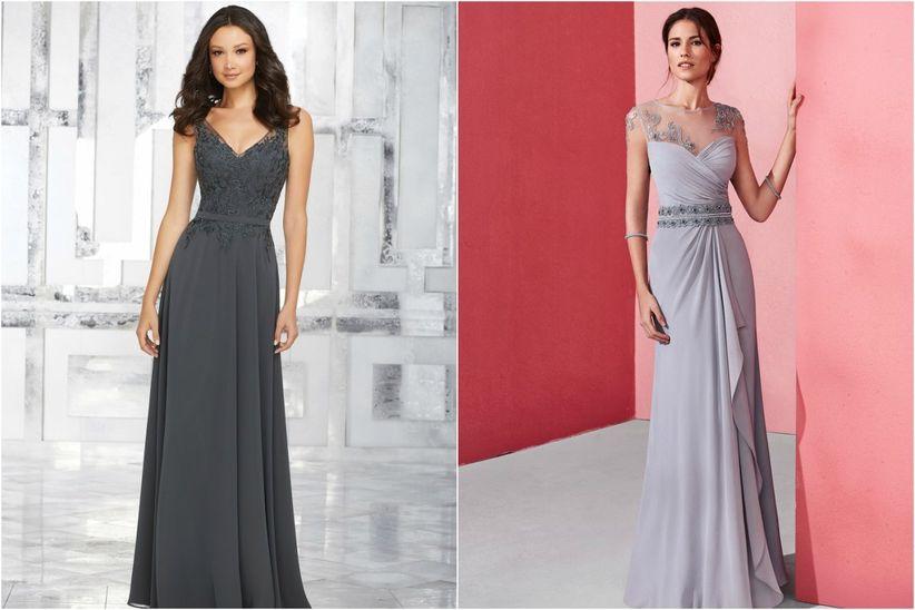 Vestido para boda de noche largo o corto