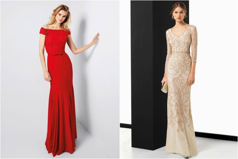 Los mejores vestidos para una boda de noche