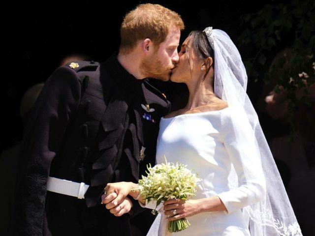 30 vestidos de novia parecidos al de Meghan Markle