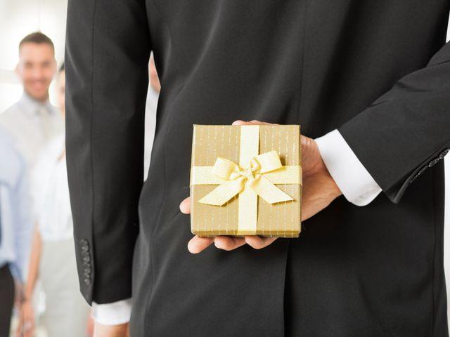 Invitación y detalles de boda para tus jefes