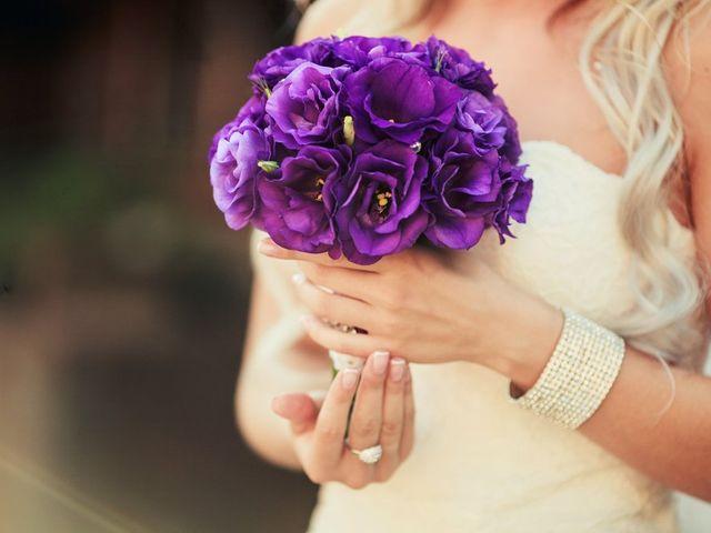 Bouquets de novia monocolor