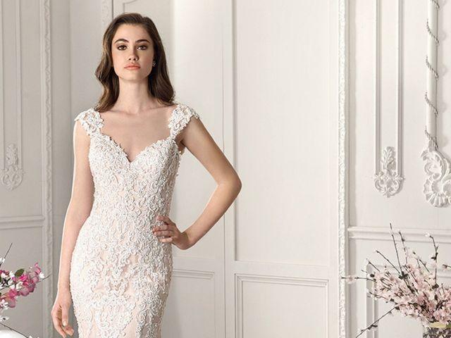 Vestidos de novia 2019: el escote Reina Ana para un look bridal perfecto