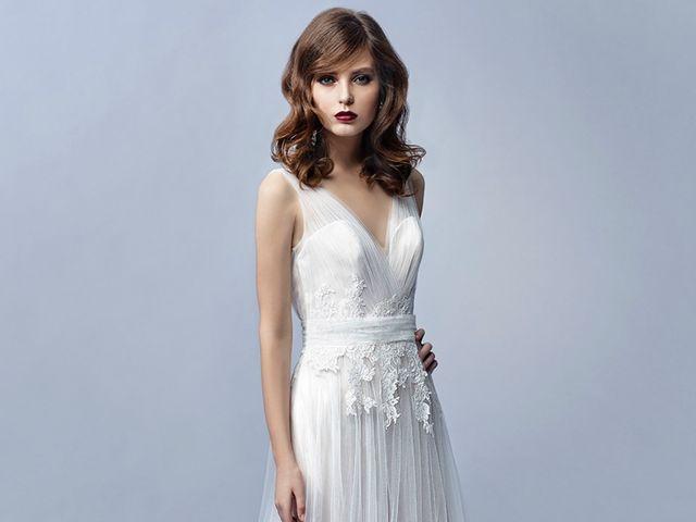 30 diseños de vestidos de novia que te ayudarán a verte más alta