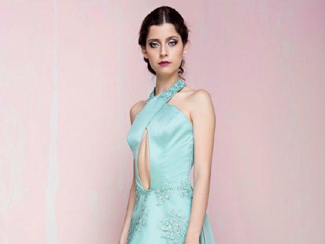 Vestidos de fiesta Paola Gamero: sensualidad en las líneas femeninas