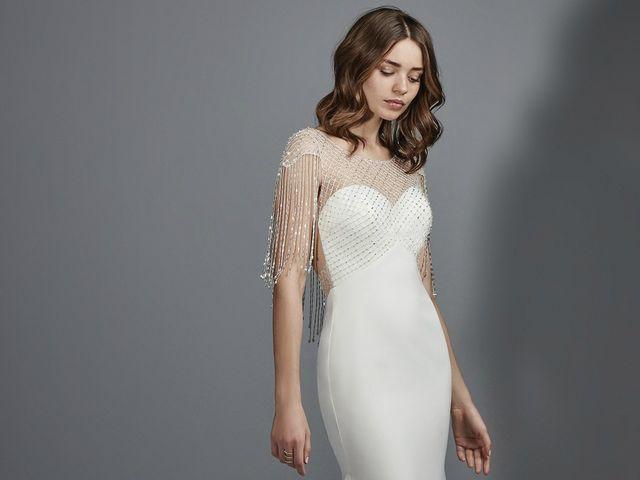 Vestidos de novia vintage 2018 que no podrás resistir lucir en tu boda