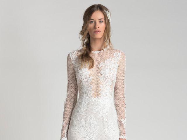 Vestidos de novia Yahel Waisman 2018: belleza inspirada en la naturaleza
