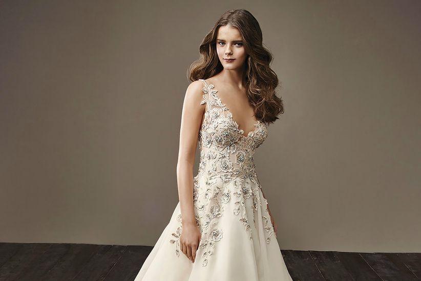 colección de vestidos de novia badgley mischka: propuestas para