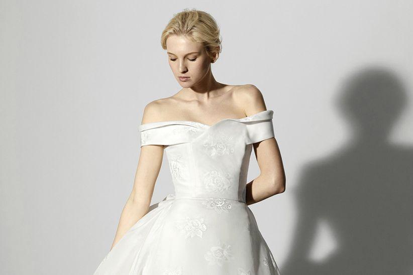 vestidos de novia de carolina herrera 2018 que adorarías lucir